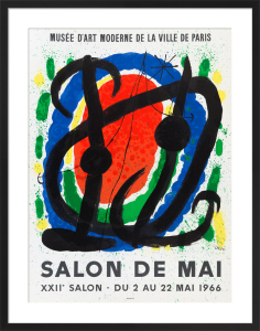 Salon de Mai, 1966 by Joan Miro
