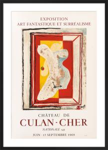 Château de Culan-Cher, 1969 by Salvador Dali