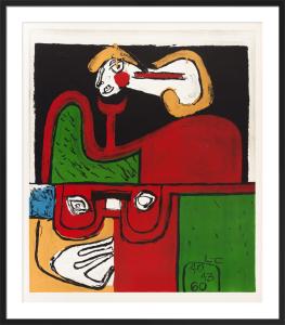 Portrait, 1960 by Le Corbusier