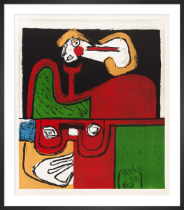 Portrait, 1960 by Le Corbusier