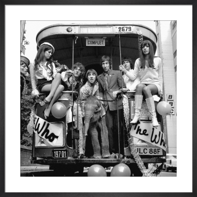 The Who, 1968 by PA Images