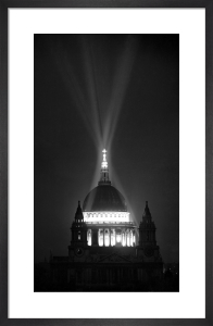 St Pauls Cathedral, 1946 by PA Images