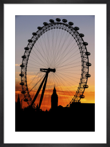 The Millennium Wheel, 2008 by PA Images