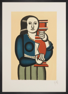 Femme a la Cruche, reproduction 1992 by Fernand Leger