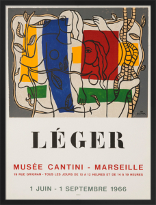 Musee Cantini, 1966 by Fernand Leger