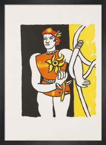 Le Cirque, 1991 by Fernand Leger