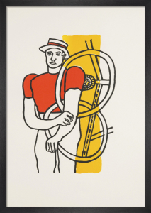Le Cycliste, 1991 by Fernand Leger