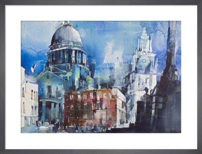 St Pauls by Bernard Vogel