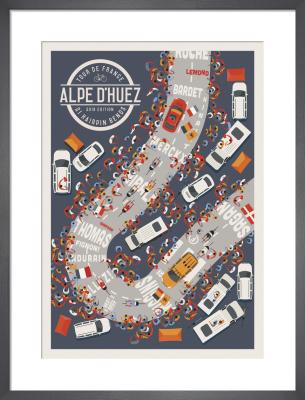Alpe d'Huez by Neil Stevens
