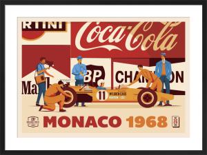 Monaco 1968 by Neil Stevens