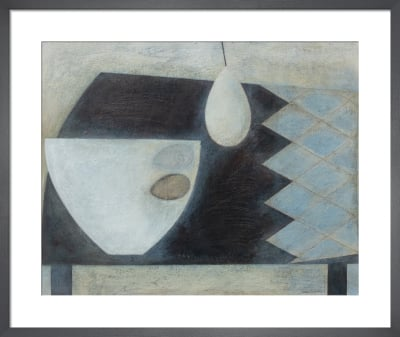 Table with Bowl, Eggs and Pear by Vivienne Williams