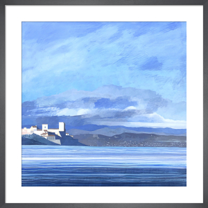 Antibes Low Sun by Andrew Lansley