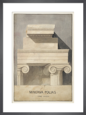 Athens, Erechtheum, Ionic order by The Soane Office