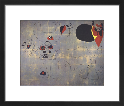 The Bullfight by Joan Miro
