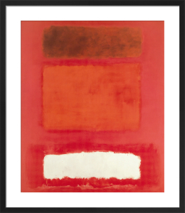 Red, White, Brown by Mark Rothko