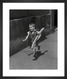 The Little Parisian by Willy Ronis
