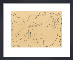 The Face of Peace by Pablo Picasso