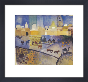 Kairouan I by August Macke