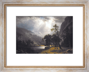 Half Dome, Yosemite Valley by Albert Bierstadt