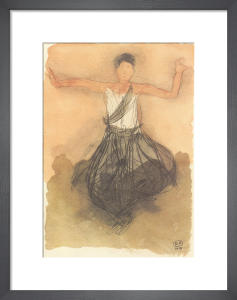 Cambodian Dancer by Auguste Rodin