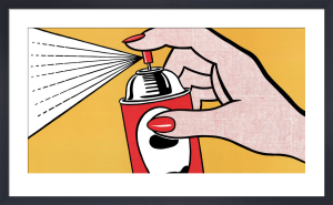 Spray, 1962 by Roy Lichtenstein