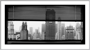 View over Manhattan, New York by Torsten Andreas Hoffmann