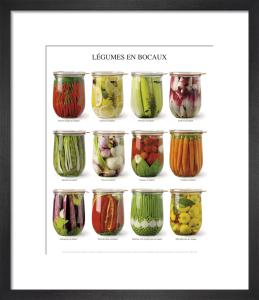 Légumes en bocaux by Atelier