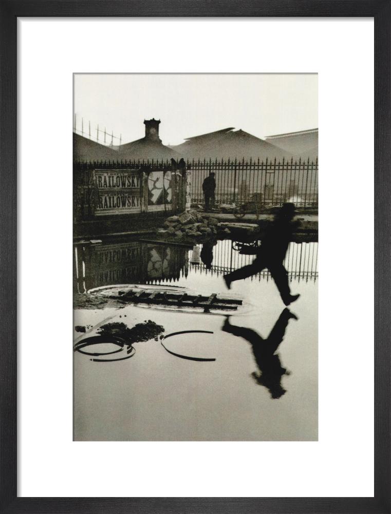 Derrière la gare Saint-Lazare Paris, 1932 by Henri Cartier-Bresson