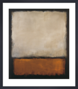 Darkbrown and grey by Mark Rothko