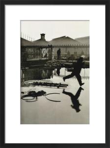 Derriére la gare Saint-Lazare Paris, 1932 by Henri Cartier-Bresson