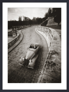 Cabriolet, France, 1936 by Robert Doisneau