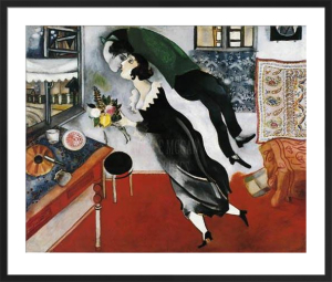 Birthday by Marc Chagall