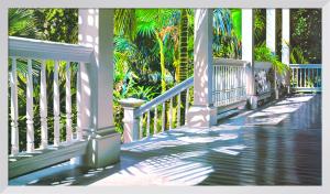 Patricks Porch by Alice Dalton Brown