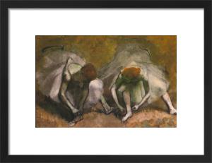 Frieze of Dancers (Detail) by Edgar Degas