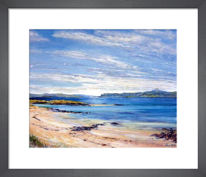 North Sands, Iona by Ronnie Leckie