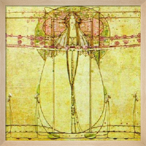 The May Queen (Detail) by Margaret Macdonald Mackintosh
