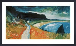 Gribun Cliffs, Mull by John Lowrie Morrison