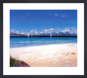 Jura from Kintyre by Ed Hunter