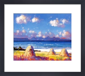 Haystacks,Arisaig by Ed Hunter