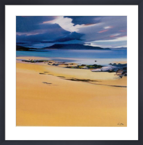 Niabost Sands, Harris by Pam Carter
