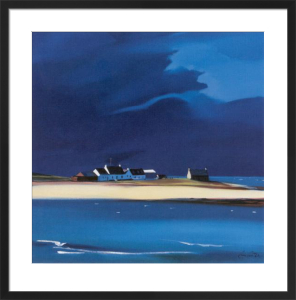 The Row, Tiree by Pam Carter