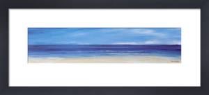 Aqua Blues I (small) by Ronnie Leckie