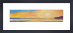 Golden Sunset I (small) by Ronnie Leckie