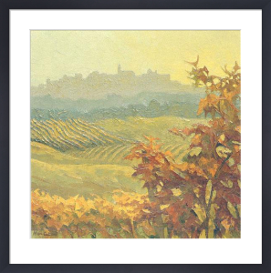 Piemonte, Autumn in Diano d'Alba by Alan Cotton