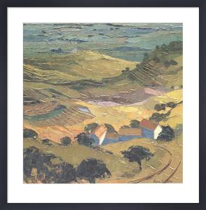 Provence, Summer Landscape near Gordes by Alan Cotton