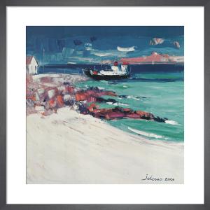 Three O'Clock Ferry, Iona by John Lowrie Morrison