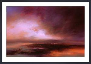 Purple Sunset by Kirstie Cohen