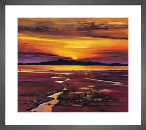 Fading Sun, Arran by Davy Brown
