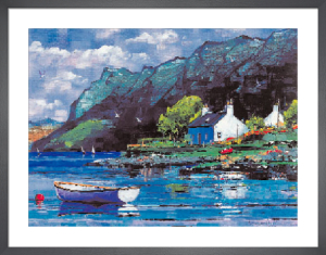 Crofts, Plockton by Daniel Campbell