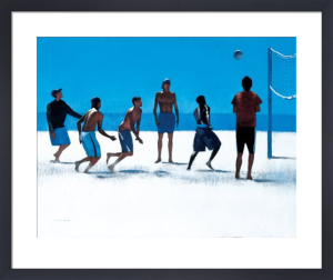 Volleyball, Venice Beach by Peter Nardini